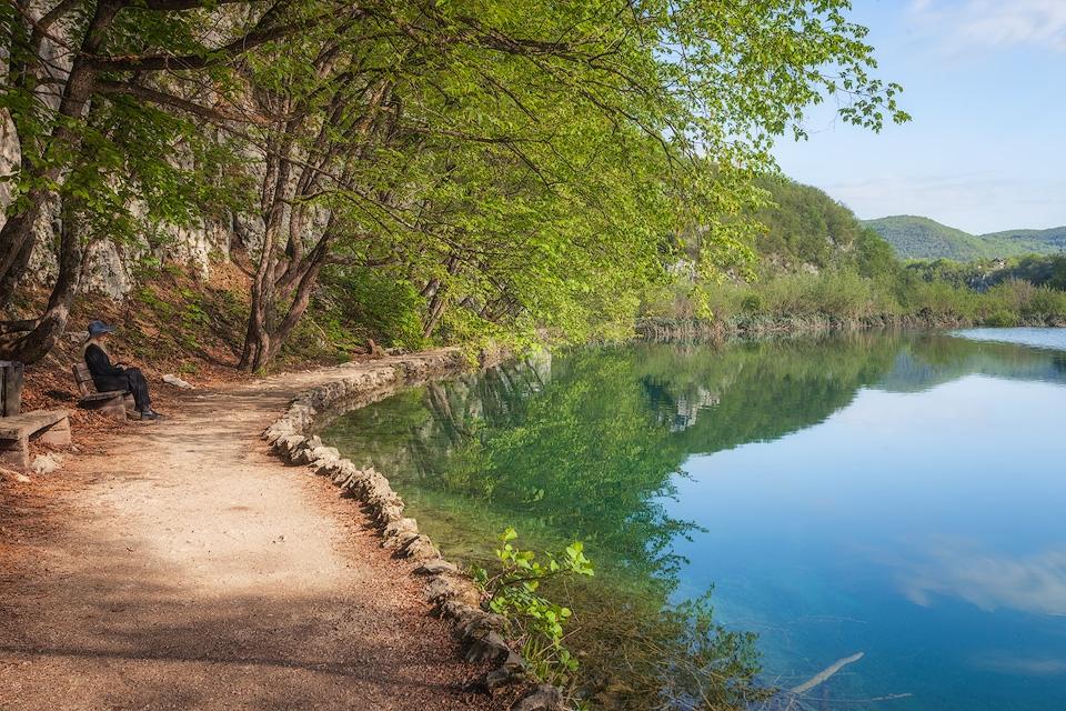 Plitvice Lake View