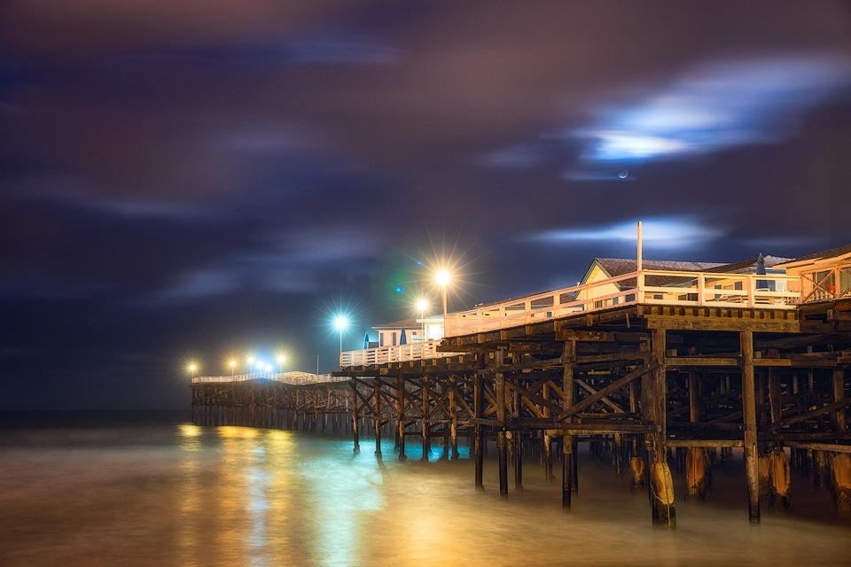 Crystal Pier at Night