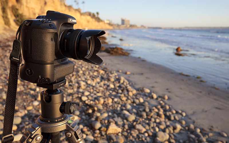 Canon 7D at the beach