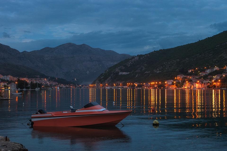 Boat near Dubrovnik