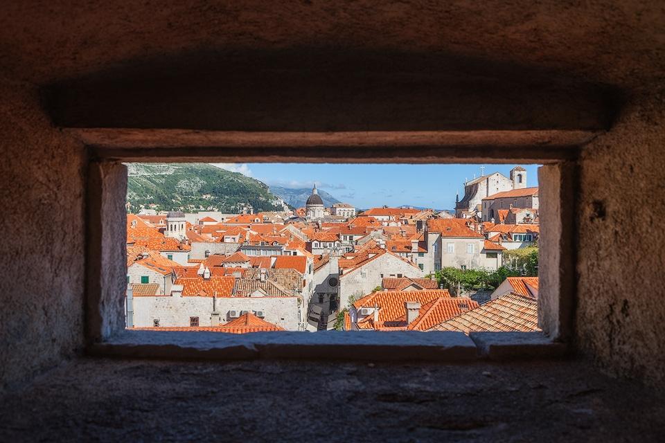 Window to Dubrovnik