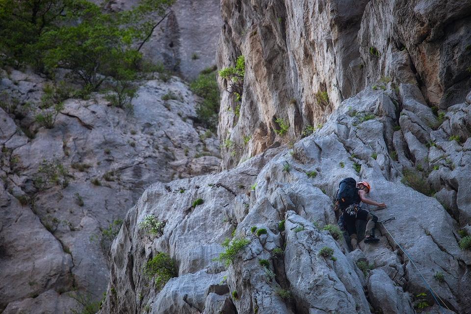 Paklenica Mountain Climber