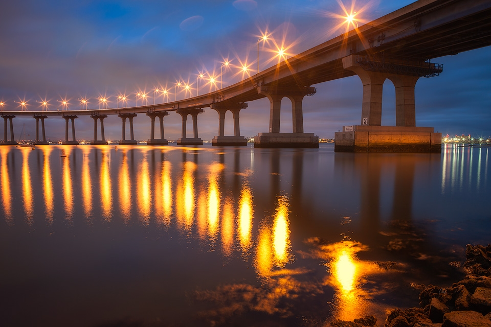 Coronado Bridge at Night