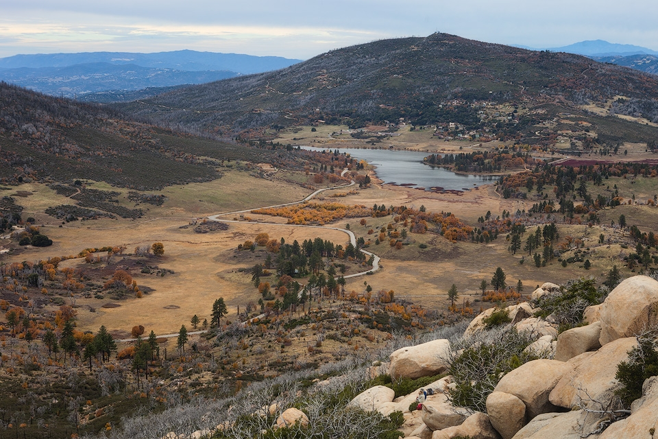 View of Lake Cuyamaca