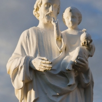 Religious Statue at Cape May Point
